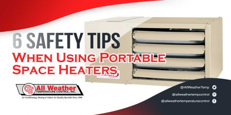 6 Safety Tips When Using Portable Space Heaters