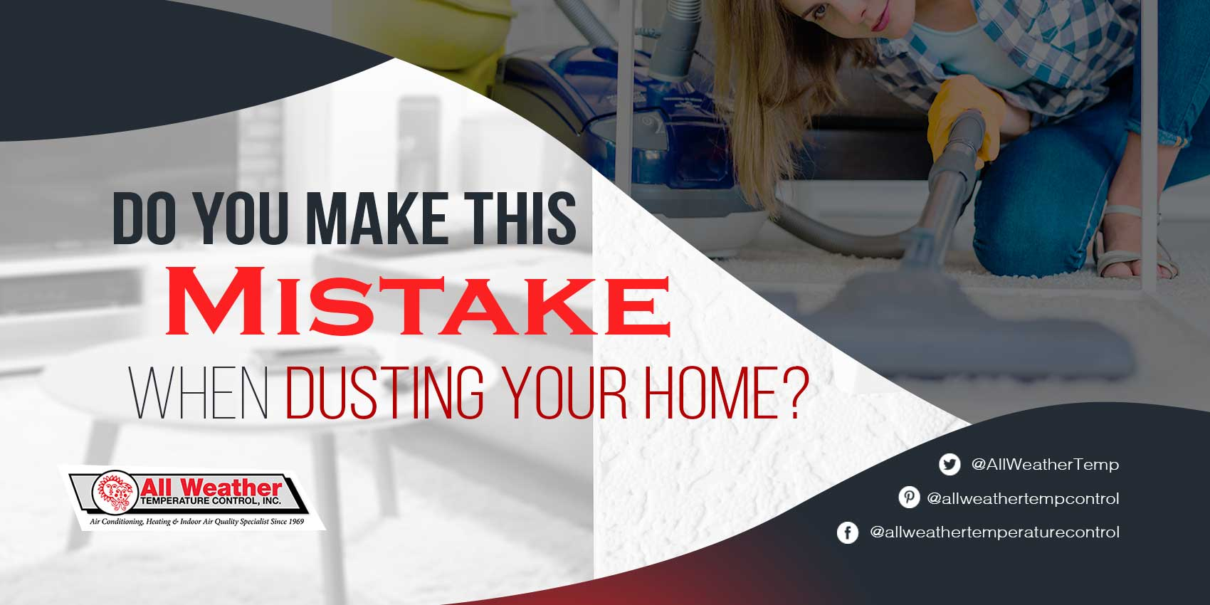 Do You Make This Mistake When Dusting Your Home?
