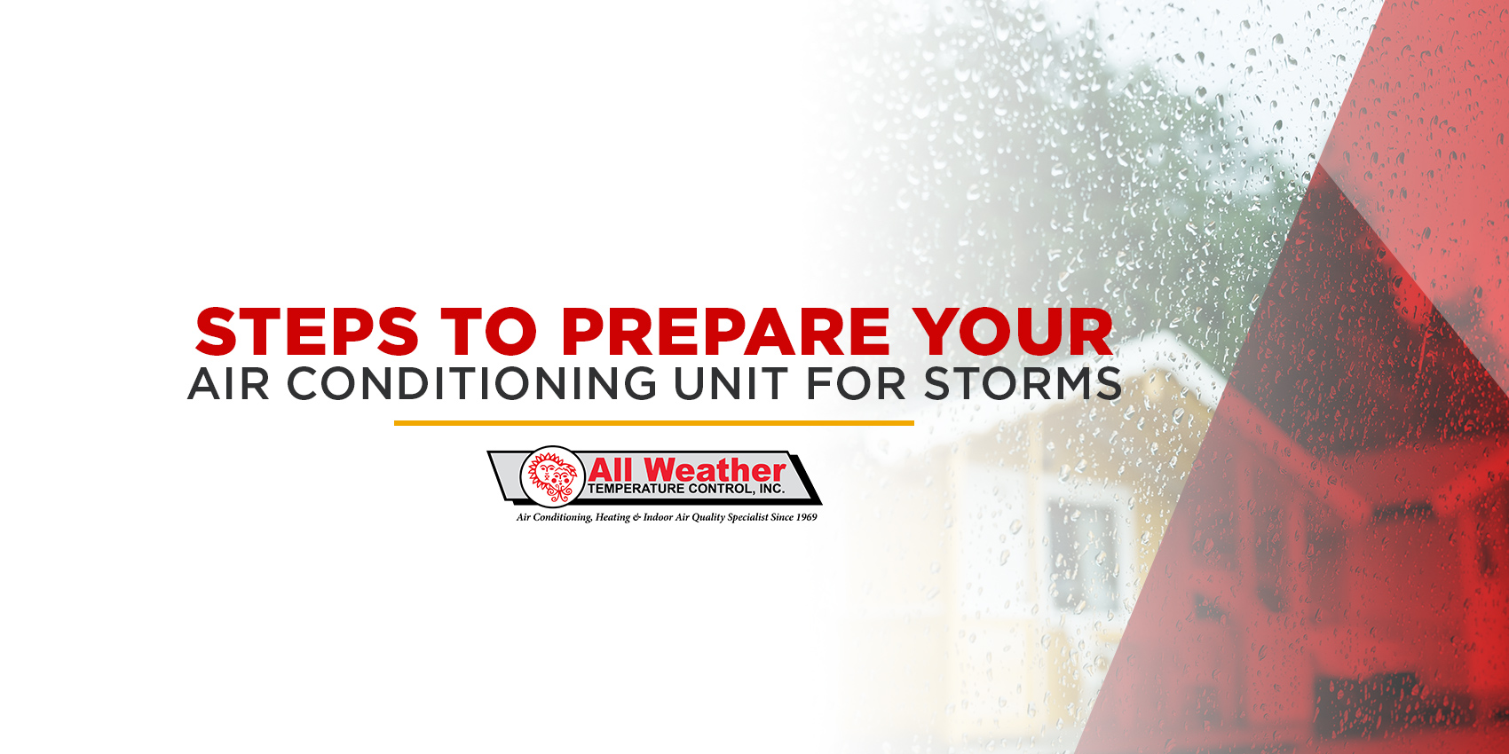 Steps to Prepare Your Air Conditioning Unit for Storms