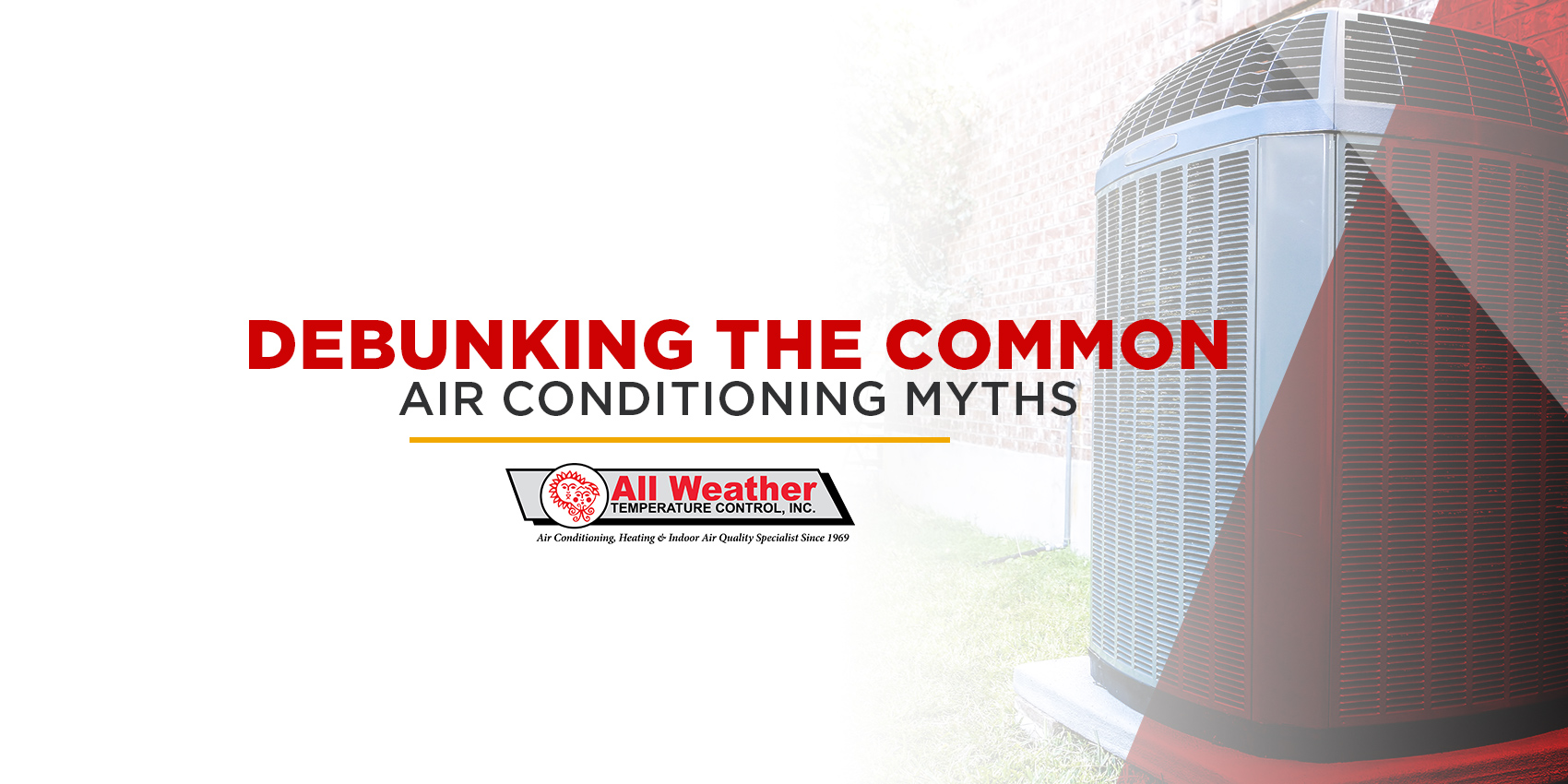 Debunking the Common Air Conditioning Myths