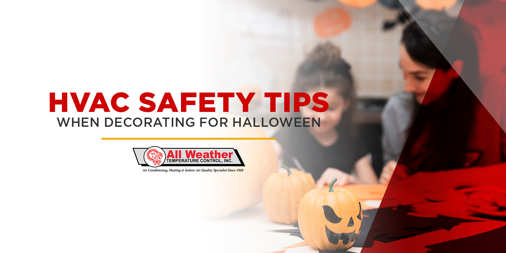 HVAC Safety Tips When Decorating for Halloween