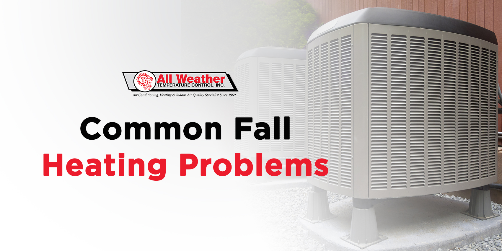Common Fall Heating Problems