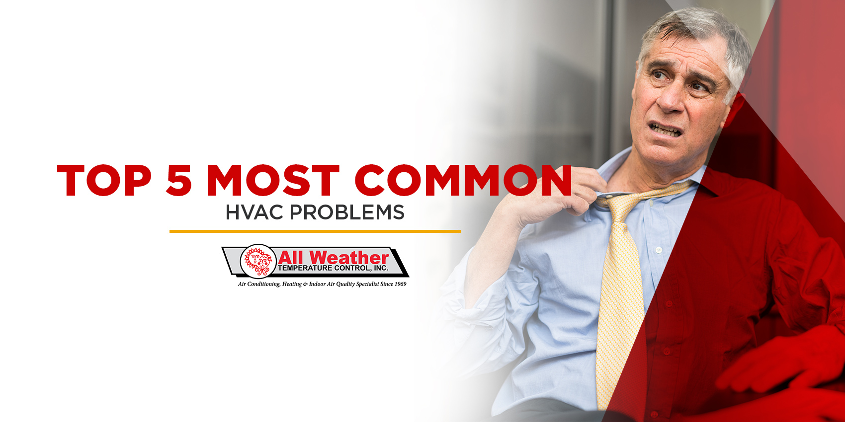 Top 5 Most Common HVAC Problems